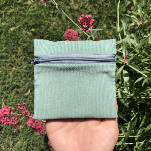 handmade pouch vinage fabric :)